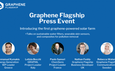 Graphene Flagship Press Event – Introducing the first ever graphene-powered solar farm